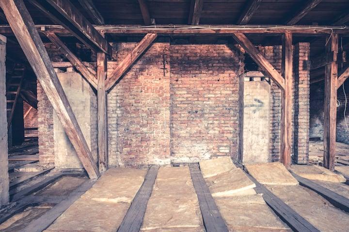 Dak of zoldervloer isoleren met rotswol isolatie