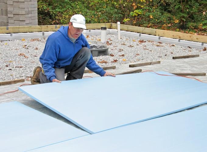 XPS isolatieplaten op plat dak