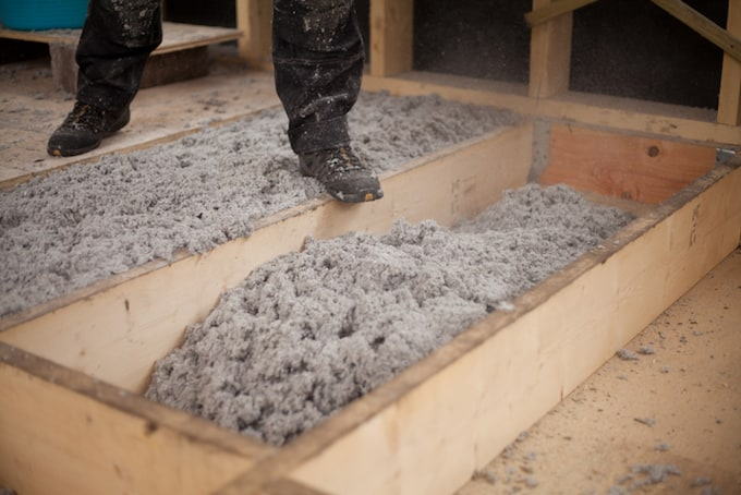 Cellulose isolatie werkt vochtregulerend