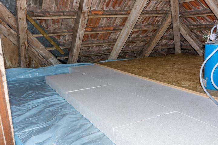Isolatieplaten zijn veelal geschikt voor zowel dakisolatie als zoldervloerisolatie
